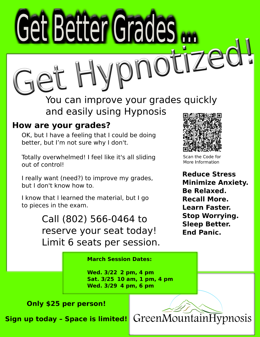 green mountain hypnosis get better grades wark dm1 university counseling and consulting services university of minnesota minneapolis